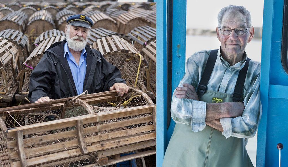 Captains Norman and Alcide have been fishing for over 50 years