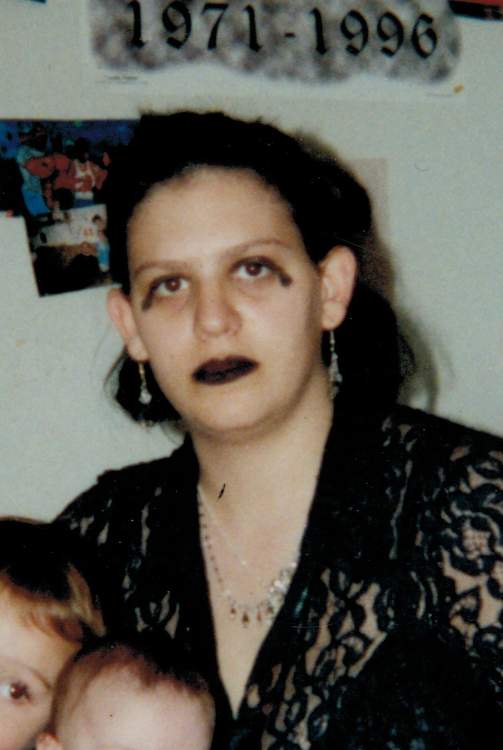 Jamie Plotkin before living for God.  Heavily into the Goth world.