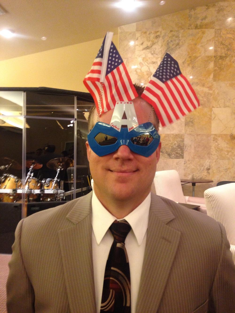Bro. Matt...Captian America