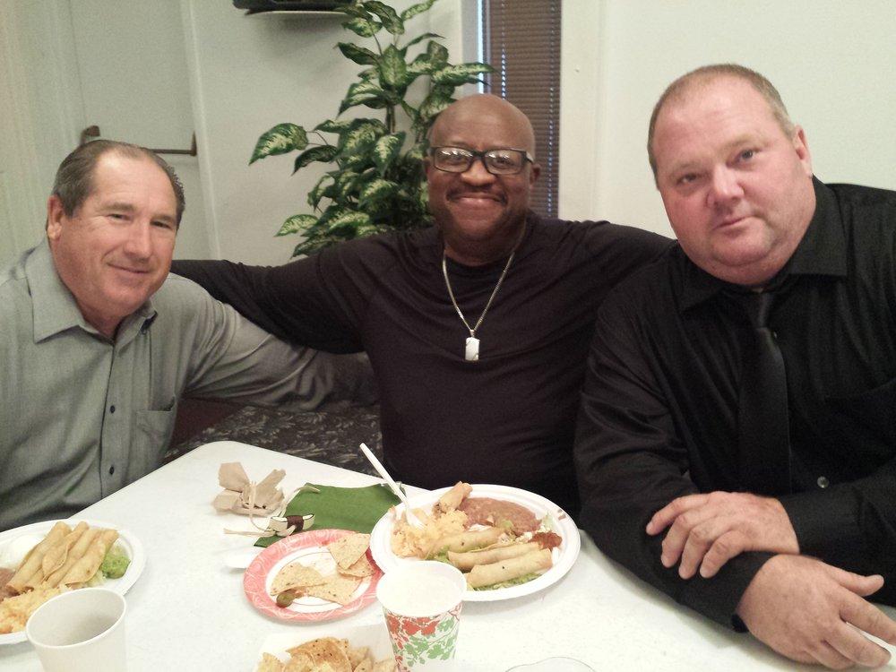 Bro. Steve, Peter and Bro. David