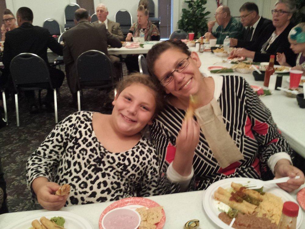 Sis. Jamie and daughter Fantasia