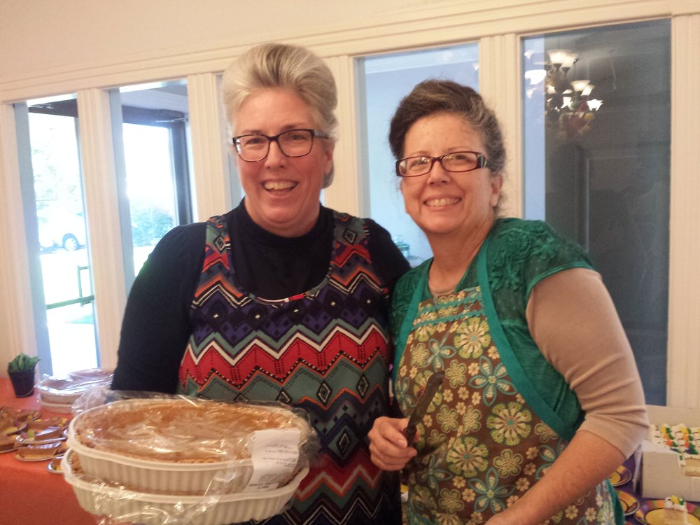 Dessert Team - Sis. Sandy and Sis. Debbie