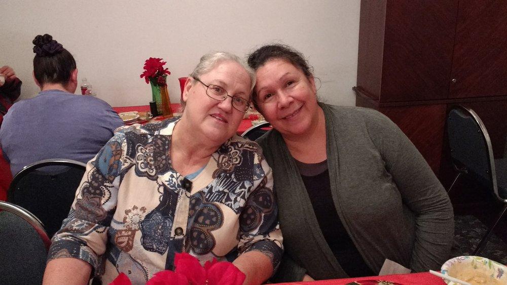 Sis. Barbara and Sis. Magdalena