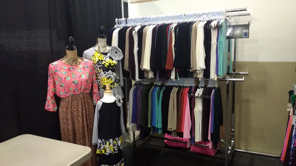 Our Fiori shirt rack