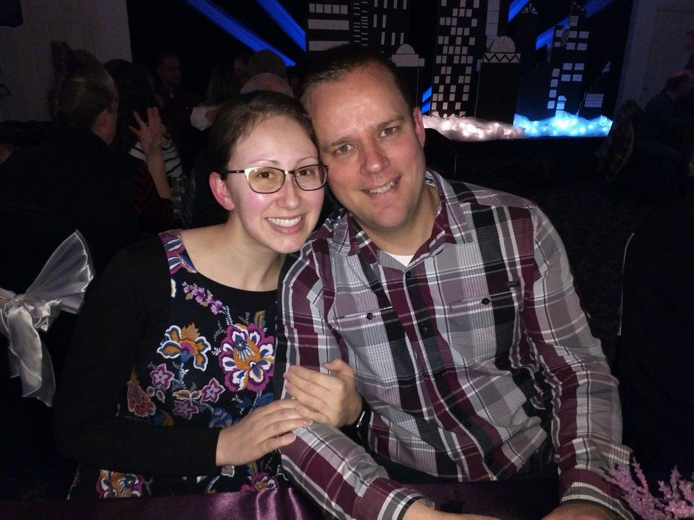 Matthew and Jen
