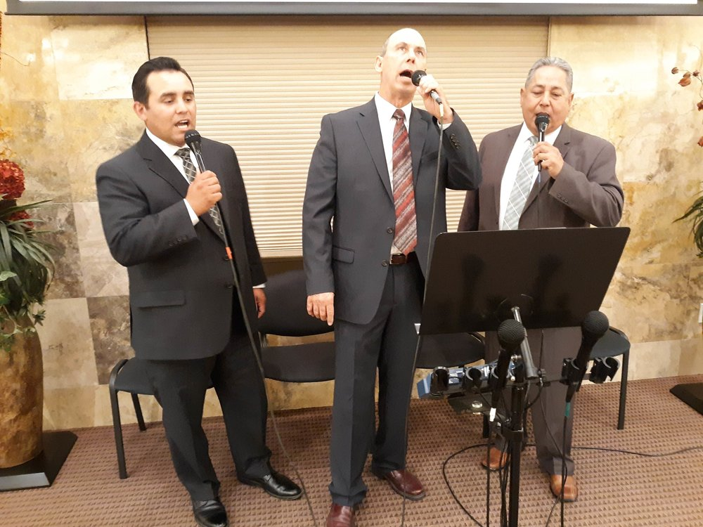 Our men's trio - Bro. Raul, Bro. Mick, Bro. Nevarez