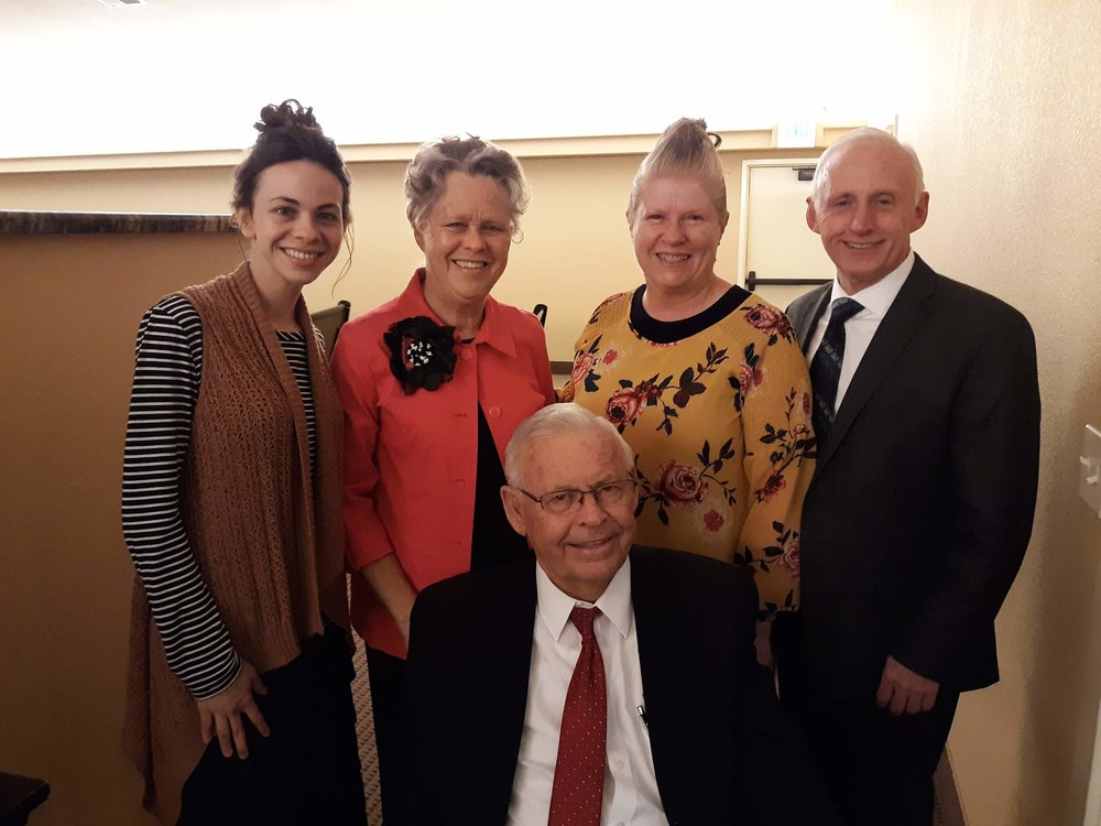 The Abbott Family with Pastor and Sis. Green