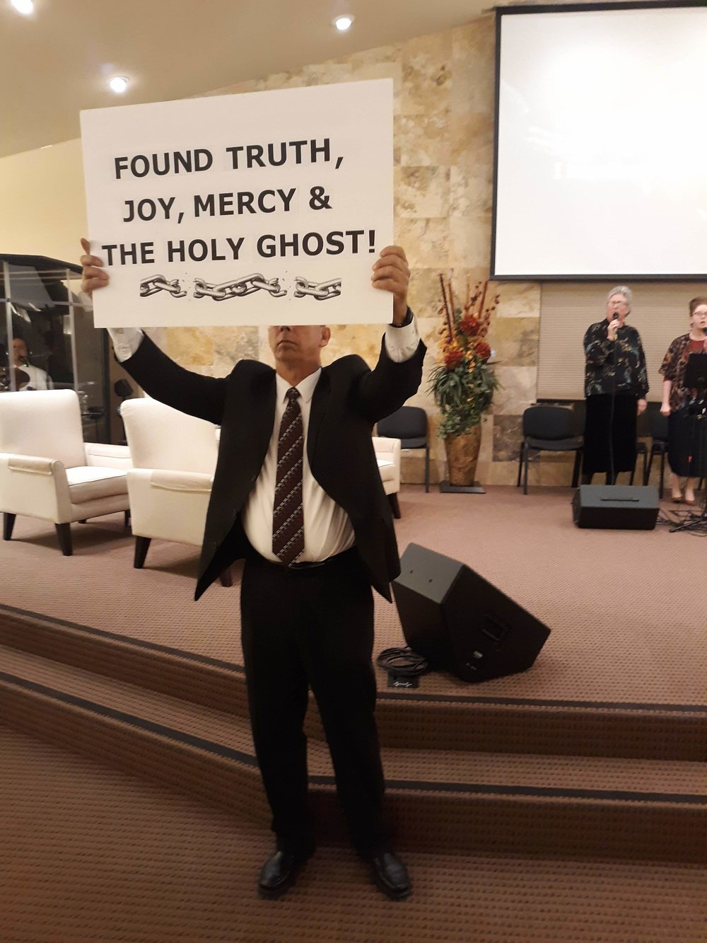 Bro. Mick after God filled him with the Holy Ghost, delivered him from Alcohol and drugs. Please see Bro. Mick's testimony on our testimony page.