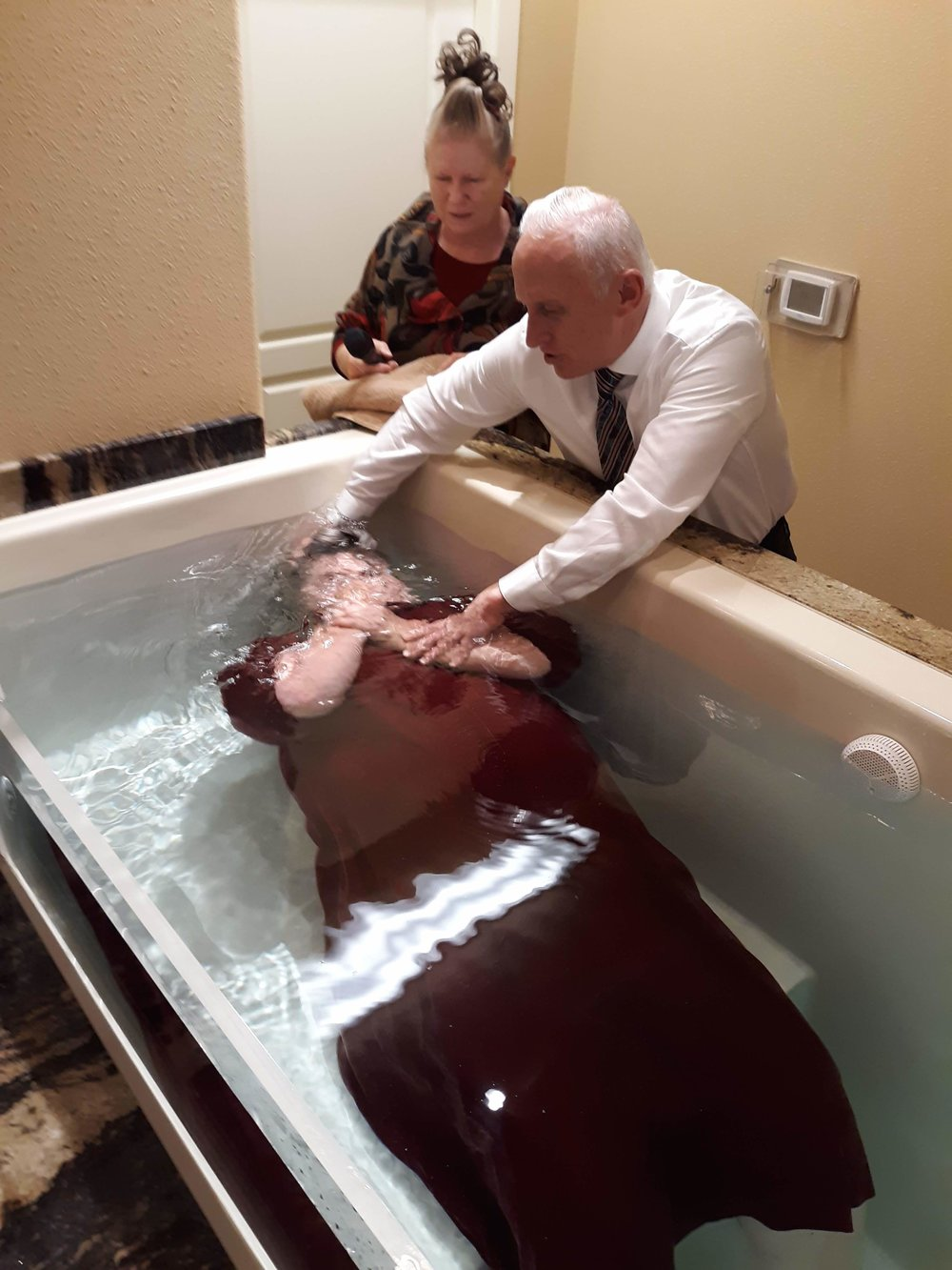 Buried with him in baptism