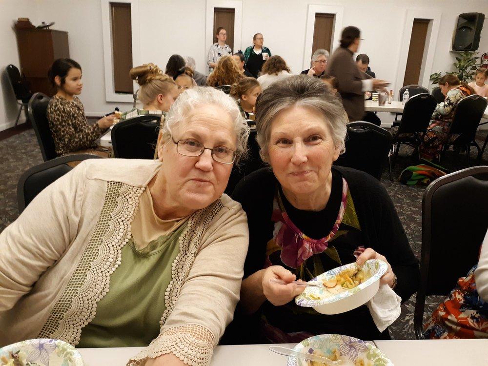 Sis. Barbara and Sis. Cynthia