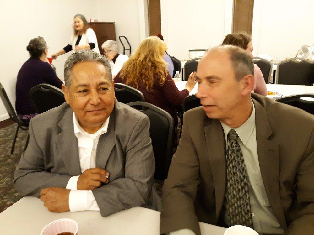 Bro. Nevarez and Bro. Mick