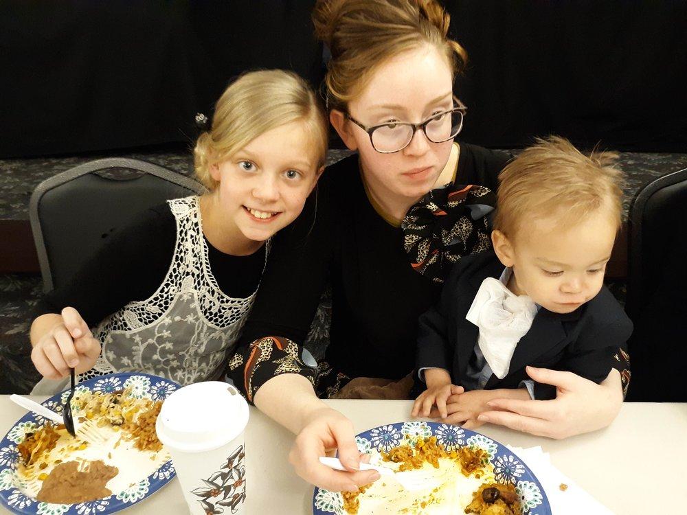 Emily, Sis. Sarah and Wayne