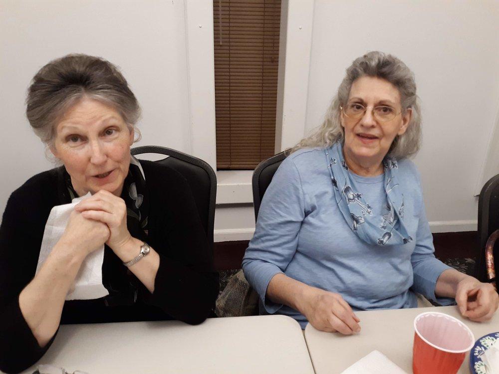 Sis. Cynthia and Margie