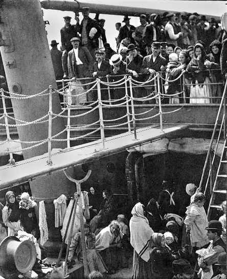 The Steerage.  1907. Alfred Stieglitz.