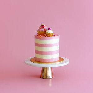 Square Cupcake Cake 1 Tier