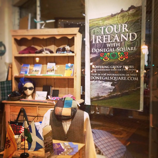 Shop Banner for Tour Ireland with Donegal Square