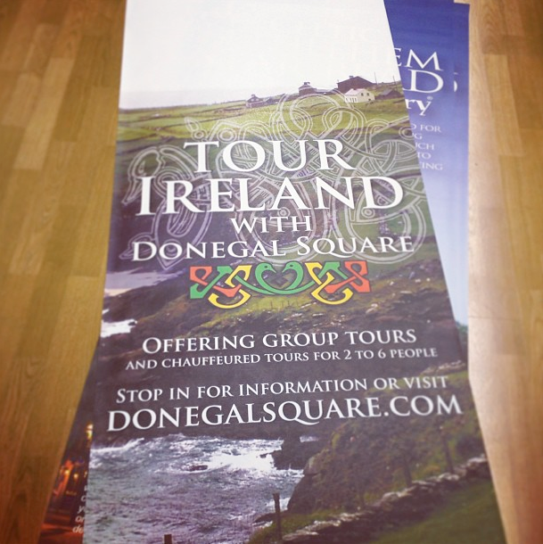 Shop Banner for Tour Ireland with Donegal Square_Detail
