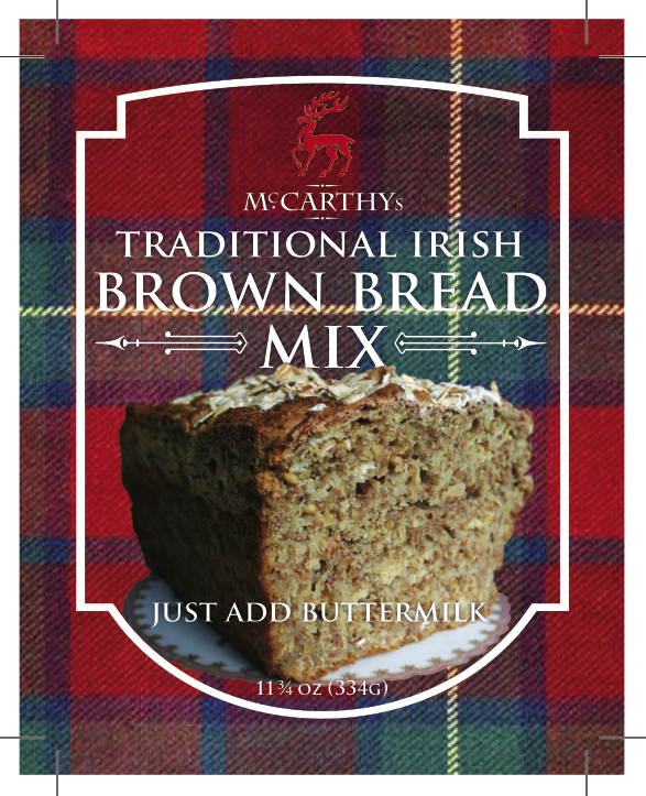 Traditional Irish Brown Bread Mix_ Front Label