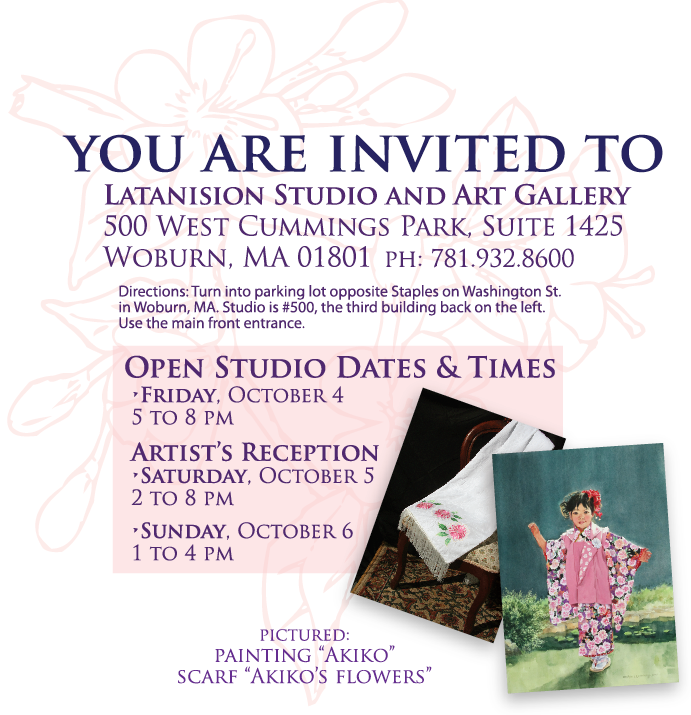 Art & Embellishment Artist Exhibit email blast promotion image