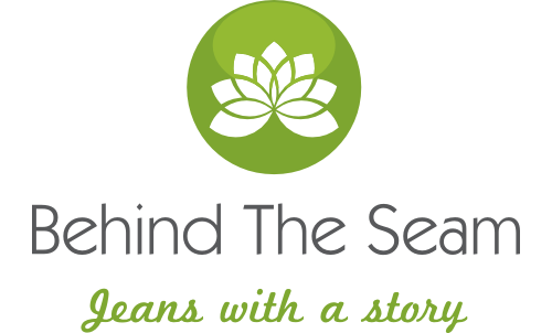 BEHIND THE SEAM • LOGO