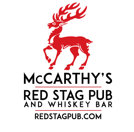 McCarthy's Red Stag Pub Stacked Logo