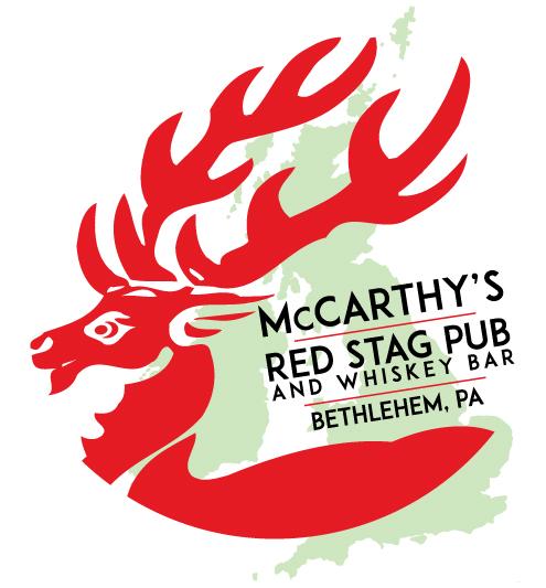 McCarthy's Red Stag Logo • Circle Logo