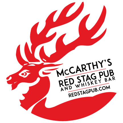 McCarthy's Red Stag Pub • Circle Red Stag Logo