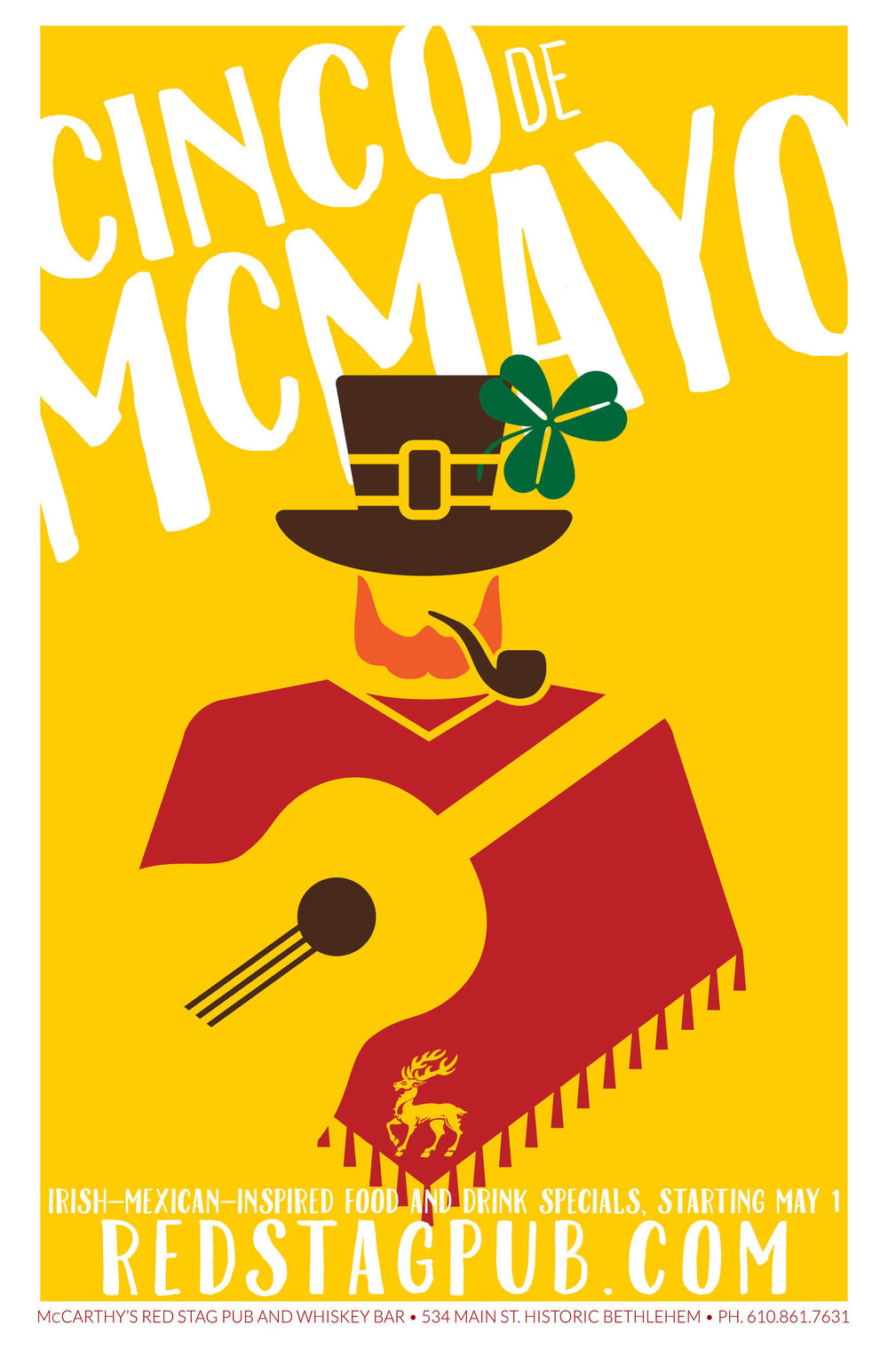 Cinco de McMayo • Full Red Stag Mark