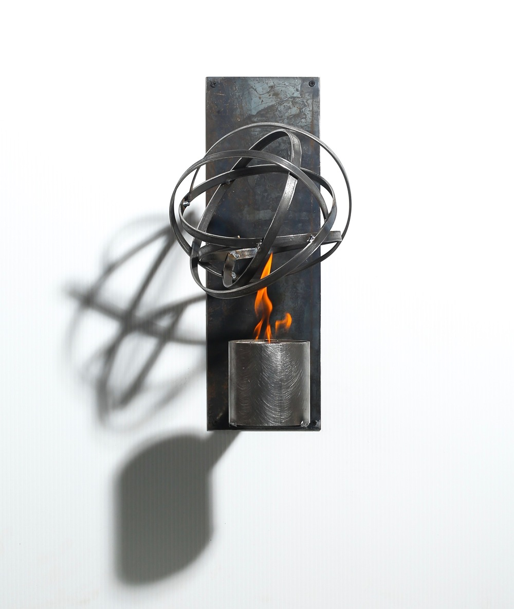 Wall sconce torch  $117