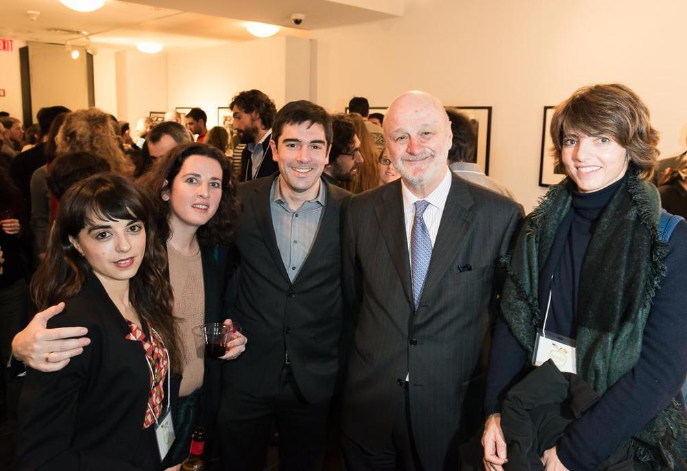 Ana Maestre (VP de ECUSA-NY), Ana Elorza, Iñaki Ugarte (Presidente de ECUSA), D. Ramón Gil-Casares (Embajador), Teresa Parejo. / Luis Gracia