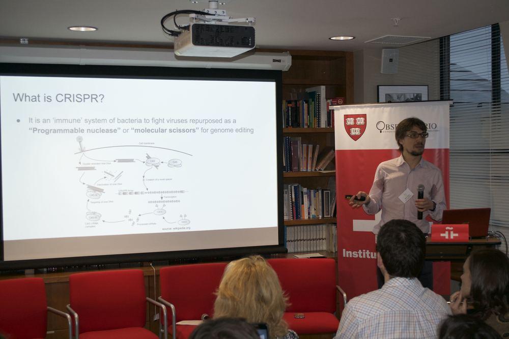 Dr. Marc Güell nos explica en qué consiste la tecnología CRISPR.