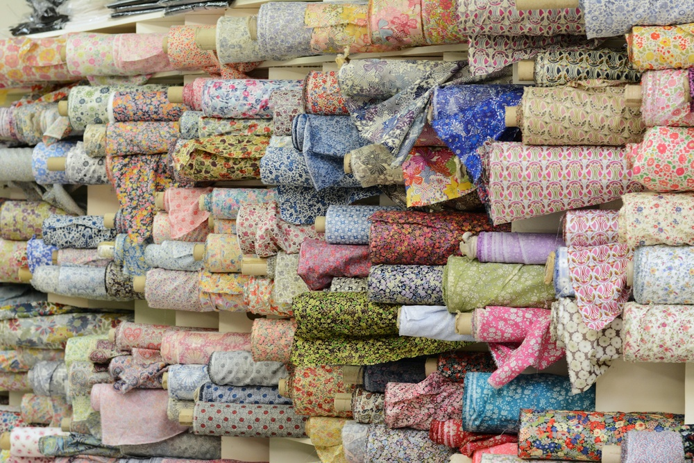 This is maybe a quarter of Liberty Tana Lawn they have in stock.