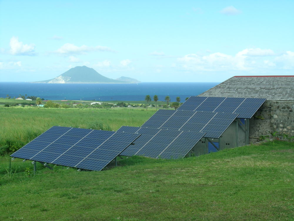 14kW PV array in the Caribbean