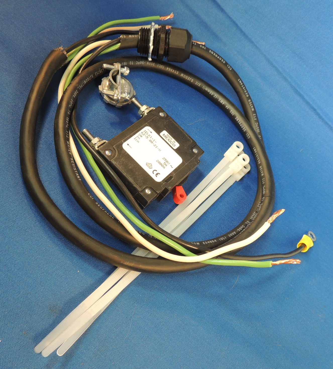 AC Inverter Circuit Breaker & Wiring Harness — SolNexus Energy Systems