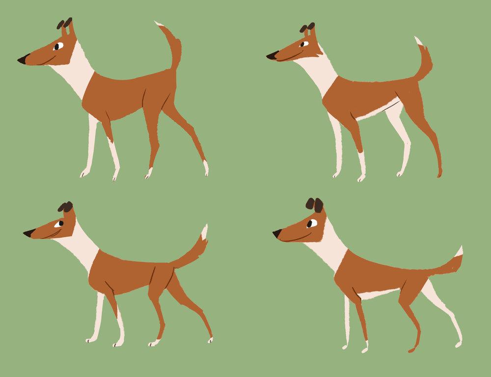 (Warp and Woof character art by Lauren Mattson)