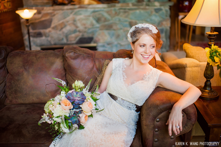 Studio 3 Floral Design - Bridal Bouquet Rustic