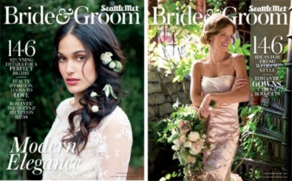 "Seattle Met Bride and Groom, winter/spring 2016  ""Urban Legends Editorial"""