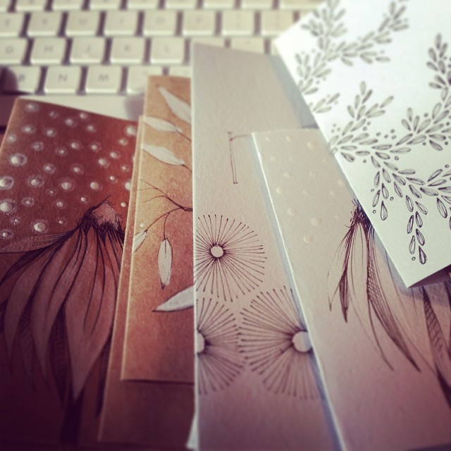 Handmade notebooks soon to arrive in my Etsy shop!