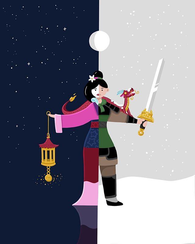 Disney | Gemini ♊️ Mulan... master of Gemini gender-bending.