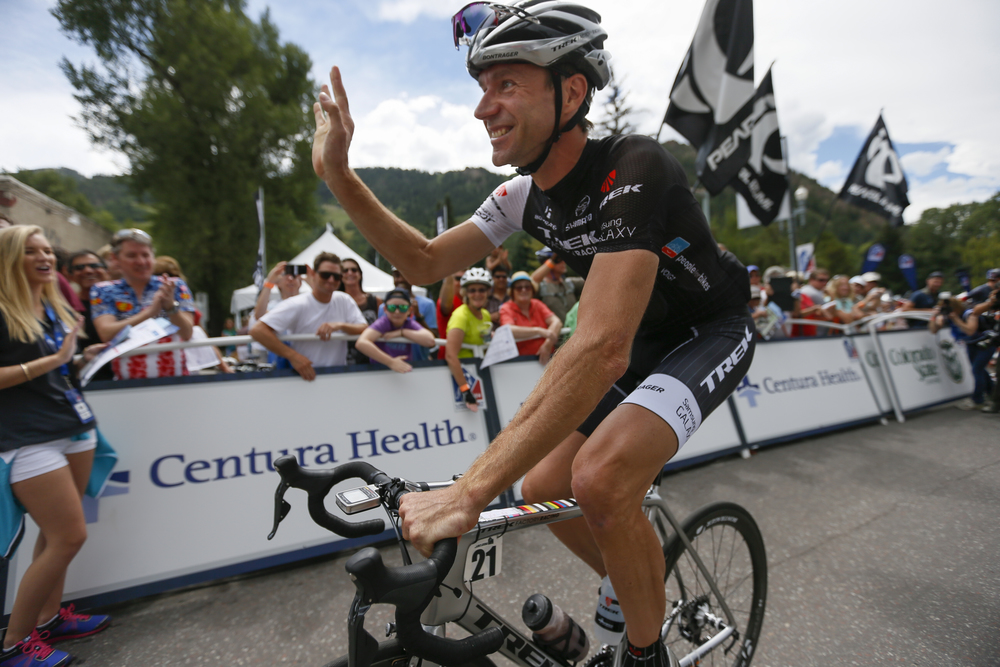 Jens Voigt enjoys considerable fame in this part of the world.