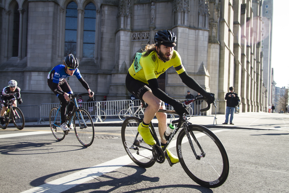 Racing season welcomes you:   Grant's Tomb Criterium