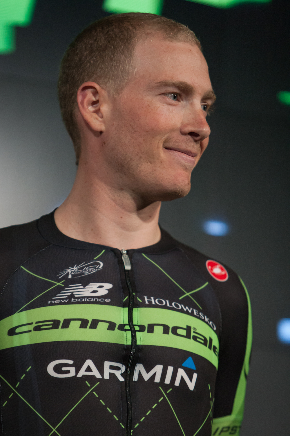 With the pressure of being a team leader for Cannondale-Garmin Pro Cycling in 2015, Andrew Telansky appears ready for the season.