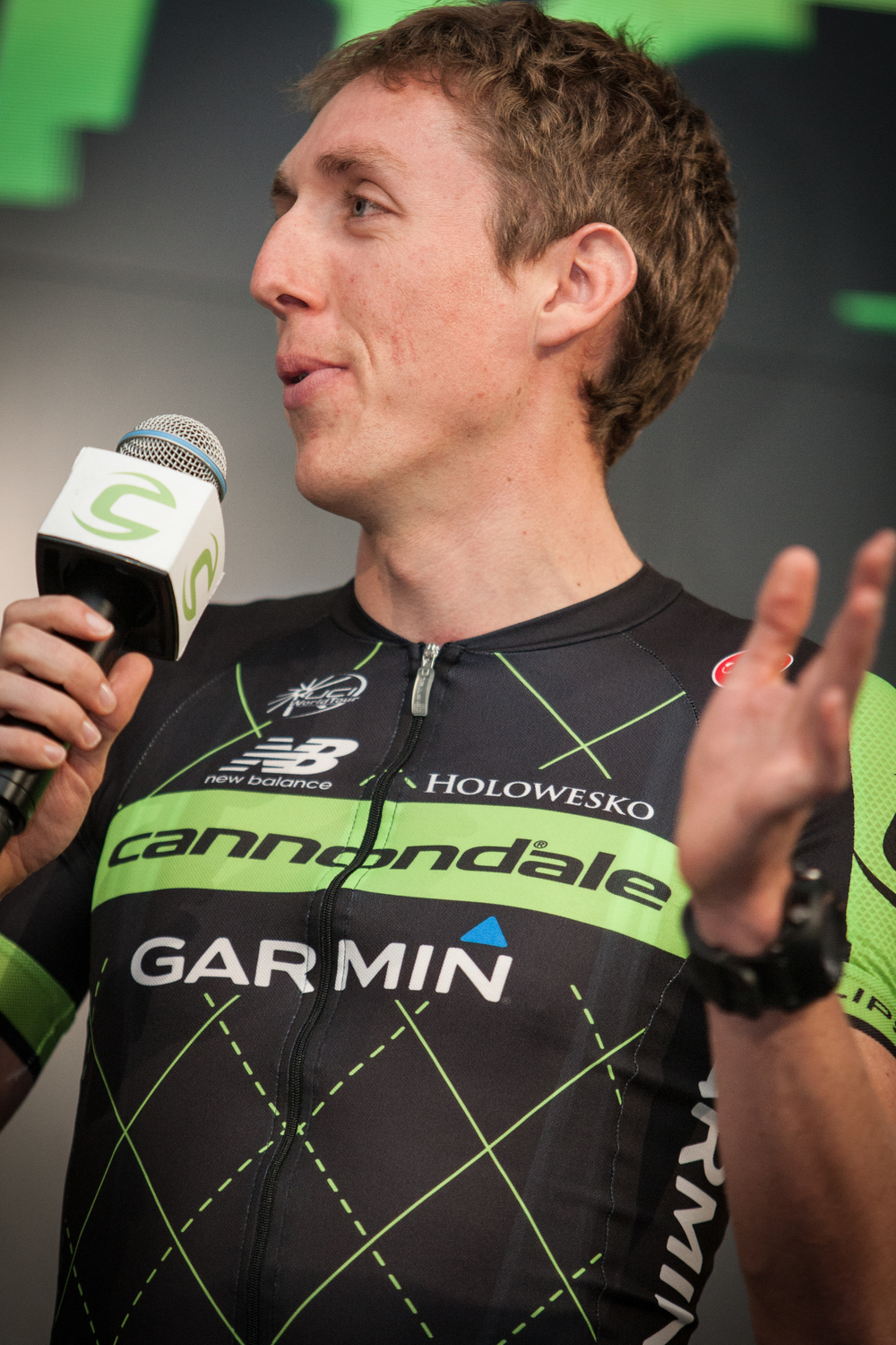 Despite a roller-coaster 2014 season, Dan Martin is optimistic for 2015.