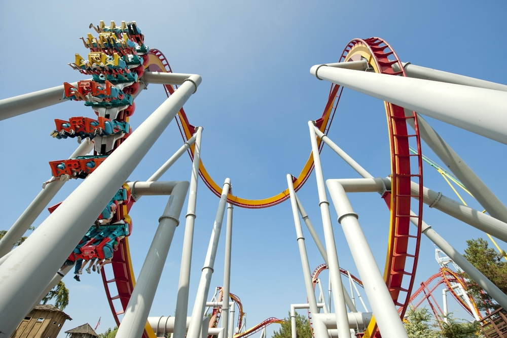 Roller Coaster, Knotts Berry Farm - Califronia