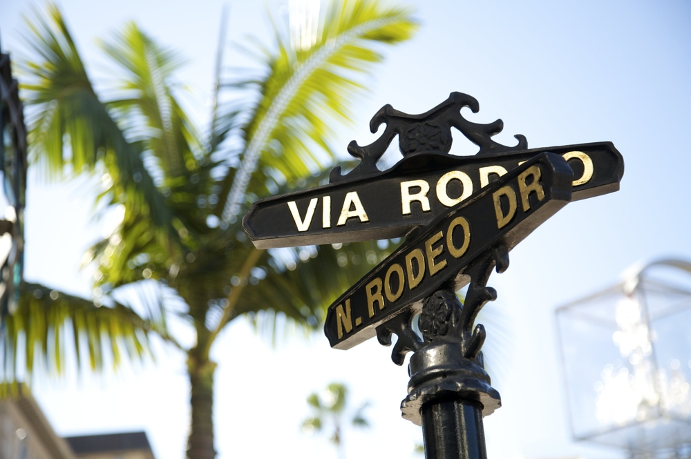 Rodeo Drive, Beverly Hills California