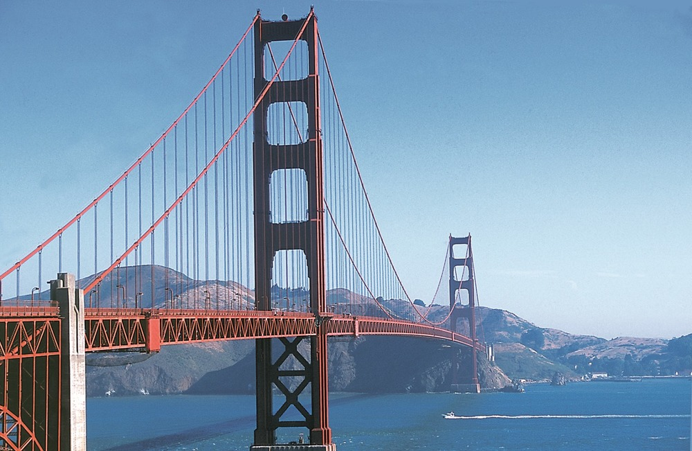 San Francisco, The Golden Gate Bridge