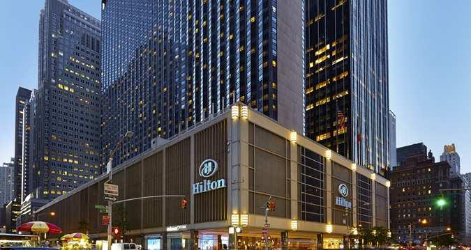 New York Hilton Exterior