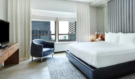 New York Hilton Guest Room