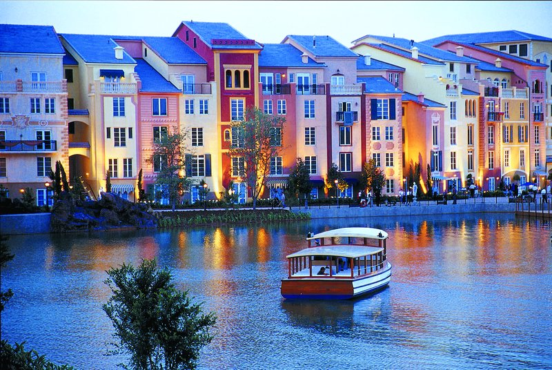 Loews Portofino Bay - Exterior with Outdoor Party