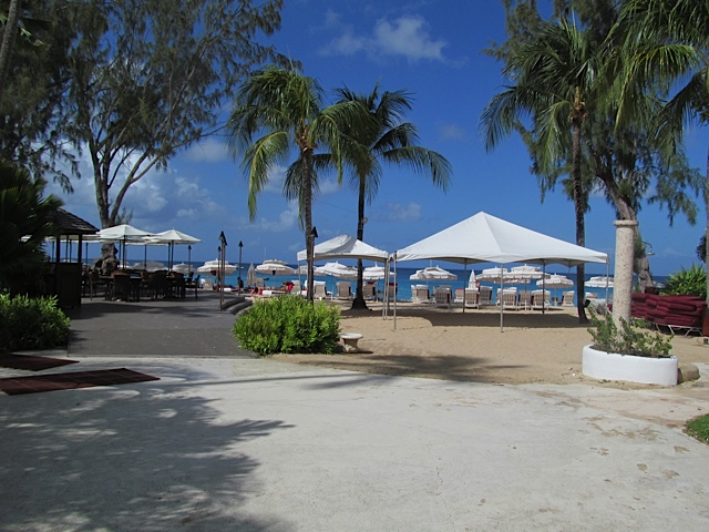 Colony Club, Barbados - Beach from the hotel